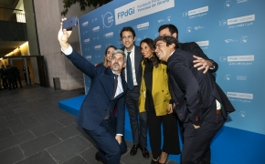 Photocall ceremonia Premios FPdGi 2019