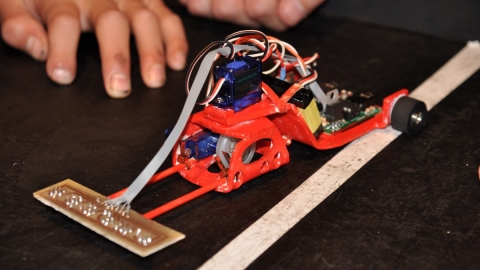 The ROBOLOT educational robotics competition is held for the 10th time (Olot, 16 Oct 2011)