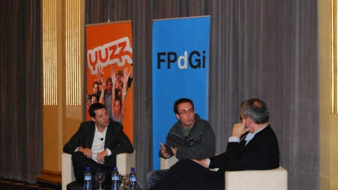 The Prince of Girona Foundation joins the YUZZ program to support the young entrepreneur initiative (Girona, 26 Mar 2012)