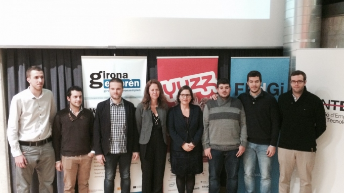 Closing ceremony of the 2014 edition of Yuzz in Girona and presentation of the new edition