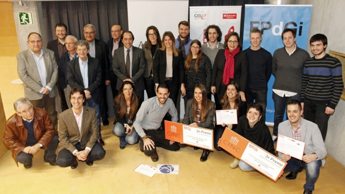 Closing ceremony of the 2015 edition of Yuzz in Girona and presentation of the new edition