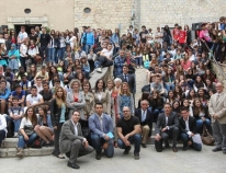 350 students present their business plans and projects at an entrepreneurial education presentation in Girona