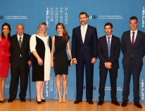 Their Royal Highnesses the Prince and Princess of Asturias and of Girona preside over the 2013 Prince of Girona Foundation Awards ceremony