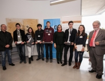 A hundred young people take part in the 'Cross-border Mathematics Saturday' in Figueres