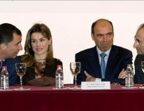 The Prince and Princess of Asturias and of Girona present the Foundation in Andalusia