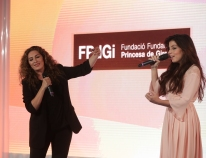 Estrella and Soleá Morente thrill those attending the 2018 FPdGi Awards ceremony