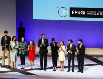 The FPdGi extolls the virtues of young people as role models for society and leaders of change at its 10th anniversary celebration