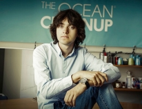 Dutch inventor and entrepreneur Boyan Slat, 2020 FPdGi International Award