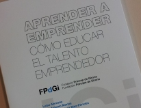 "The FPdGi presents the report ""Learn to be an entrepreneur"""