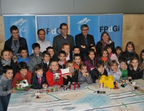 Young people and robots working as a team to improve the quality of life of elderly people in a new FIRST LEGO League