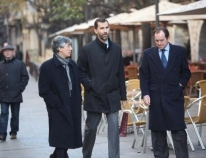 The Prince Walks down the Rambla de Girona to Buy Sweets