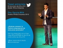 Tweet interview with Pau Garcia-Milà, 2010 FPdGi Business Award Winner