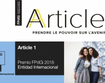 Article 1, from France, 2018 FPdGi International Organisation Award