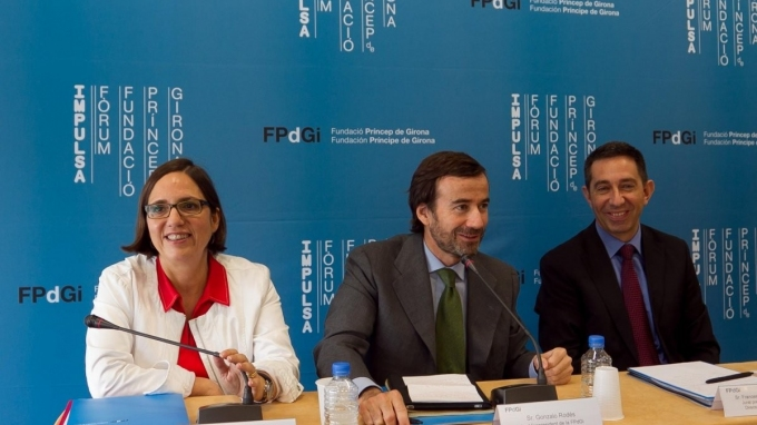 Mònica Margarit, Gonzalo Rodés and Francesc Faluja